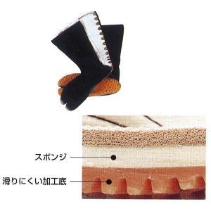 祭ジョグ足袋 12枚甲馳 黒 =お祭り よさこい用品 YOSAKOIソーラン 大祭 祭禮 イベント=|dento-wako