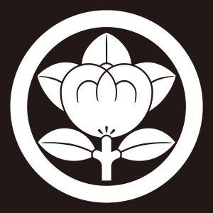 貼り紋 丸に橘(シールタイプ6枚1組) =着物 羽織 家紋 紋付=|dento-wako