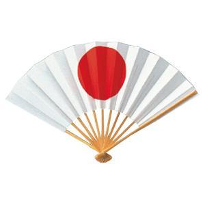 日の丸扇 =イベント用 扇子=|dento-wako