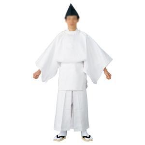 白丁(烏帽子付き) =神社 神職 衣装 神主 宮司=|dento-wako