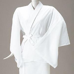 絽半襦袢(半衿付バチ衿) =舞踊 和装下着= dento-wako