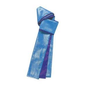 パールたすき(水/紫) =お祭り よさこい用品 YOSAKOIソーラン 大祭 祭禮 イベント=|dento-wako