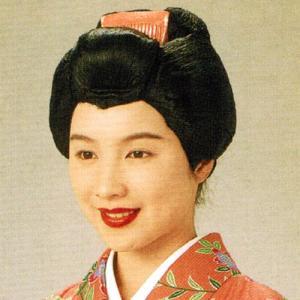 芸者 変装用カツラ =祭り 踊り イベント 芝居=|dento-wako