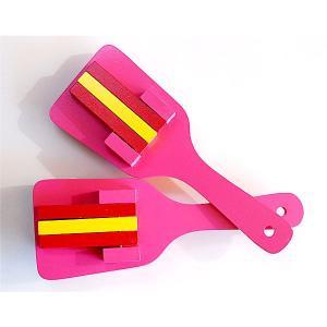 カラフル鳴子(ピンク) =よさこい お祭り用品 YOSAKOIソーラン 大祭 祭禮 イベント= dento-wako