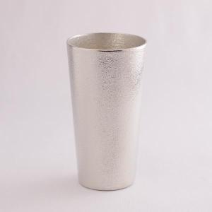 「能作」 カップ 1個 「あすつく対応」 ( 能作 錫 コップ グラス グラス セット タンブラー 高岡銅器 結婚 出産 内祝い 引き出物 金婚式 誕生日プレゼント )|dentouhonpo