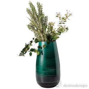 長花瓶 緑硝子 ( へちもん 名入れ可 父の日ギフト 母の日 父の日プレゼント 初任給 プレゼント ...