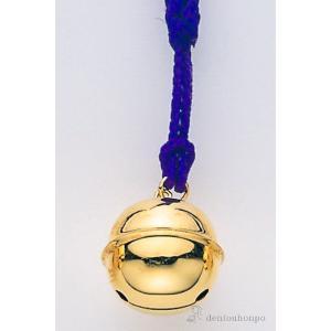 細かな細工で表現された、金製(K18)で鈴形の根付です。その音で邪気をはらい心を清めるといわれる鈴は...