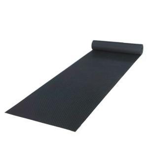 篠田ゴム エースマット ブラック (5mm×1m×10m) 3巻セット|denzai-39