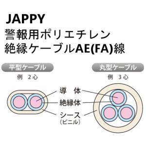 JAPPY 警報用ポリエチレン絶縁ケーブルAE(FA)0.9mm×3C JB 200m|denzai-39