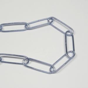 ミズノ金属 小判型チェーン ♯13 ユニクロ 40W1灯用 (30m×1本)|denzai-39