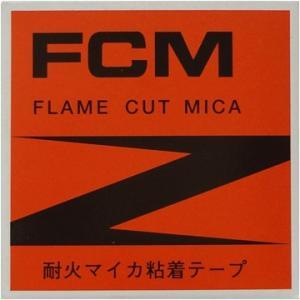 フジクラ 耐火マイカ粘着テープ FCM 0.15mm×19mm幅×5m|denzai-39