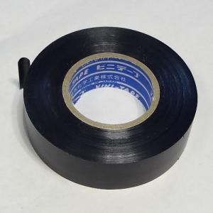 デンカ DENKA ハーネステープ 19mm幅 20m巻 黒色 (10巻)|denzai-39