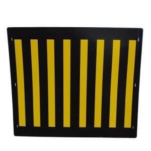 大東電材 電柱標識板 バンド3本付  (縦60cm横70cm厚み2mm)|denzai-39