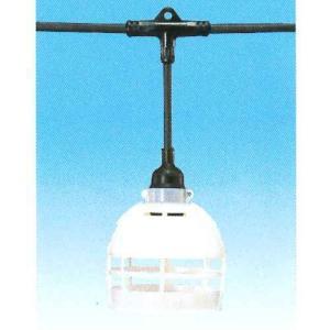 岡澤工業所 分岐ケーブル 照明・安全灯用 ソフトVCT2.0×2C 20m ソケット数6 T1-20-6(H) denzai-39