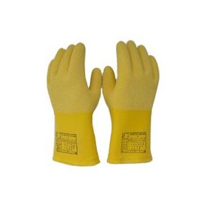 ヨツギ 低圧発泡手袋 300V以下用 (滑り止めAタイプ) Lサイズ YS-102-17-03|denzai-39