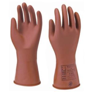 ヨツギ 低圧ゴム手袋 ネオフィット 交流600V以下・直流750V以下 薄手 Lサイズ YS-102-55-03 denzai-39