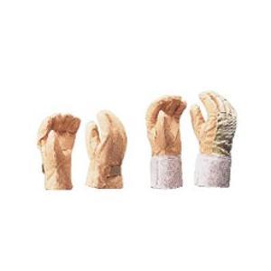 ヨツギ 保護革手袋 (大) マジックテープ付 YS-103-12-02|denzai-39