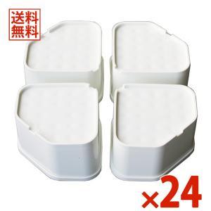 因幡電工 ワンプラス ふんばるマン OP-SG600 24セット96個入 洗濯機用防振かさ上げ台|denzai-com
