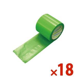 DIATEX ダイヤテックス パイオラン塗装養生用テープ 100mm×25m グリーン まとめ買い18巻 Y-09-GR-100mm|denzai-com