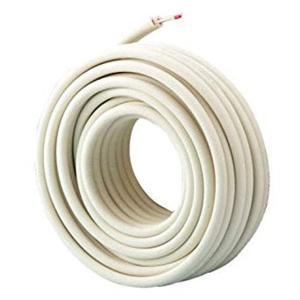 因幡電工 ペアコイル 2分3分 20m エアコン配管用被覆銅...