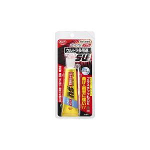 コニシ ボンドウルトラ多用途S・Uプレミアム ソフト 透明 25ml プラパック 超強力接着剤 #05141