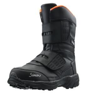 SIMON・シモン プロテクティブスニーカー マジック式長靴 防寒 KB38黒 25.5cm 2312990
