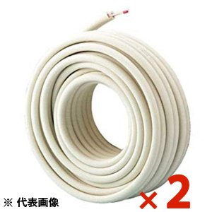 イナバ 因幡電工 ペアコイル2分3分 20m HPC-2320 エアコン用被覆銅管 2本セット