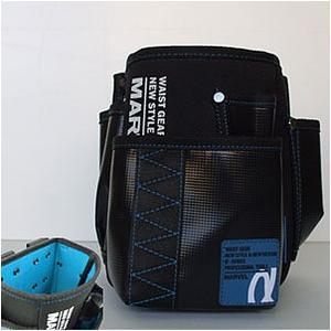 マーベル WAIST GEAR(腰袋) ブルー MDP-90AB [MDP90AB]|denzai-hotline
