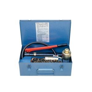 泉精器製作所 油圧式パンチャ(油圧ヘッド分離式) SH-10-1(B) ポンプ付 厚鋼3インチセット [SH10B3] denzai-hotline