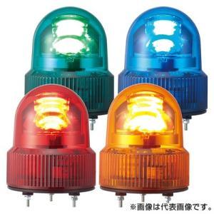パトライト LED回転灯 SKHE-100-Y 黄 (AC100V)|denzai-hotline