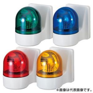 パトライト 壁面取付小型回転灯 WH-100A-R 赤 (AC100V)|denzai-hotline
