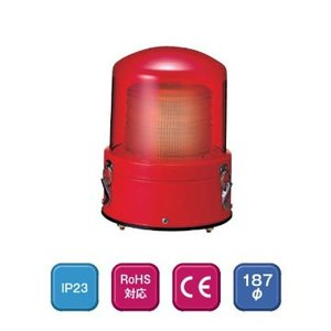 パトライト LEDフラッシュ表示灯 XME-24-R 赤 (DC24V)|denzai-hotline