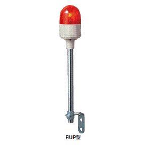パトライト(PATLITE) 超小型回転灯 RUP-100 AC100V Ф82 パトランプ 回転 赤、黄、緑 送料無料|denzai-land