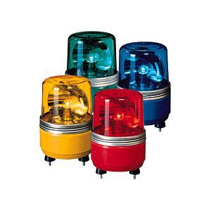 パトライト(PATLITE) 小型回転灯 SKH-12EA DC12V Ф100 防滴(DC24V選択可) パトランプ 回転 赤、黄、緑、青|denzai-land