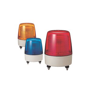 【生産・販売終了】パトライト(PATLITE) 中型キセノン灯 XP-100 AC100V Ф162 防滴(AC220V選択可) パトランプ キセノン フラッシュ 赤、黄、緑、青 送料無料|denzai-land