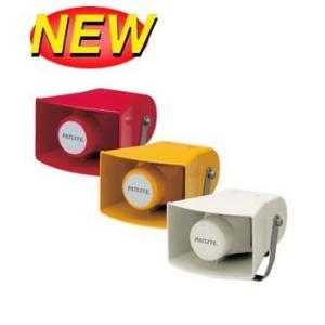 パトライト(PATLITE) ホーン型電子音報知器 EWHS-200 AC200V 赤、黄、ライトグレー 送料無料 denzai-land