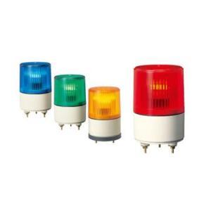 パトライト(PATLITE) 超小型表示灯 PS-12 点灯タイプ AC/DC12V Ф82(AC/DC24V選択可) パトランプ 点灯 赤色、黄色、緑色、青色 denzai-land