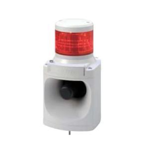 パトライト LED積層信号灯付き電子音報知器 LKEH-110F AC100V 1段(色、音色お選びいただけます。) denzai-land