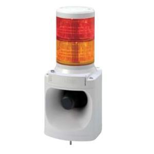 パトライト LED積層信号灯付き電子音報知器 LKEH-202F DC24V 2段(色、音色お選びいただけます。) denzai-land