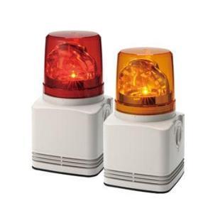 パトライト 電子音内臓LED回転灯 RFT-100 AC100V 115角 (色、電子音お選びいただけます。)|denzai-land