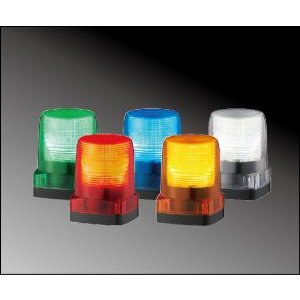 パトライト(PATLITE) LEDフラッシュ表示灯  車両用  LFH-24S DC24V Ф100 防水 パトランプ LEDフラッシュ  赤、黄、緑、青、白 送料無料 denzai-land