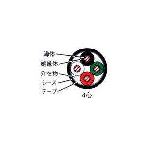 ☆新品☆600V CV 3.5SQx4C 1mより切断OK 最長300m☆領収書可能