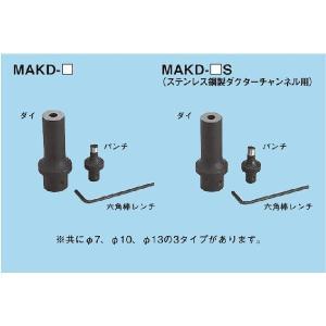 ☆新品☆ ネグロス MAKD用替金型 MAKD−7 denzai110ban