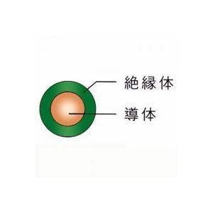 1mより切断OK ☆新品☆600V ビニル絶縁電線 IV 22SQ 緑 ☆領収書可能