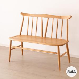 ベンチ 背もたれ ダイニングベンチ 二人掛け ノルン 背付きベンチ (IS)|denzo