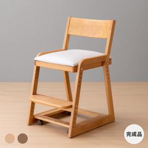 プレ会員様限定!ポイント最大31倍!学習椅子 学習チェア イス いす キッズチェア 勉強椅子 大人 キャスター付 高さ調整 木製 完成品 ココロ キッズチェア (IS)|denzo