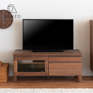 本日最終日!ポイント最大31倍!テレビ台 ウォールナット 木製 フロック 100 テレビボード (IS)|denzo