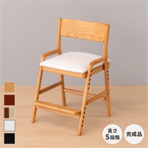 プレ会員様限定!ポイント最大31倍!学習椅子 学習チェア ネット限定色 姿勢 高さ調整 木製 完成品 フィオーレ デスク チェア アルダー (IS)|denzo