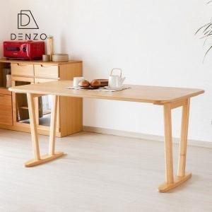 本日最終日!ポイント最大31倍!テーブル ダイニングテーブル 150cm幅 北欧 無垢 サワー (IS)|denzo