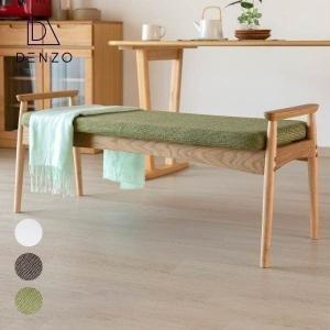 ベンチ ダイニングベンチ 椅子 北欧 木製 サワー ISSEIKI|denzo